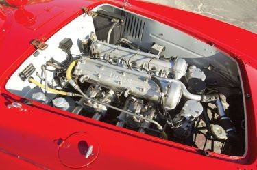 1954 Ferrari 500 Mondial Spider Series I Engine